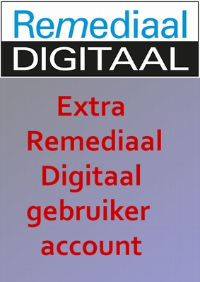 Extra gebruiker Remediaal Digitaal