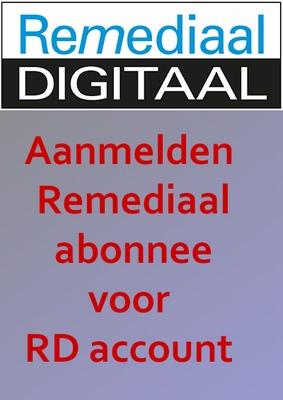 Aanmelden Remediaal Digitaal