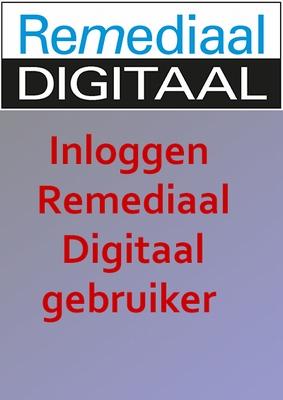 Inloggen Remediaal Digitaal