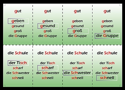 Opstap Duits Deel 1 Klankspellingen