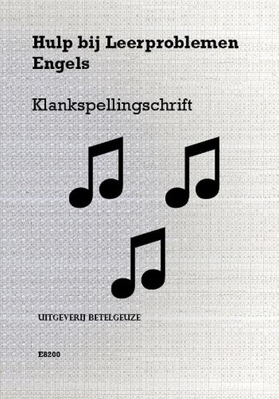 klankspelling schrift engels